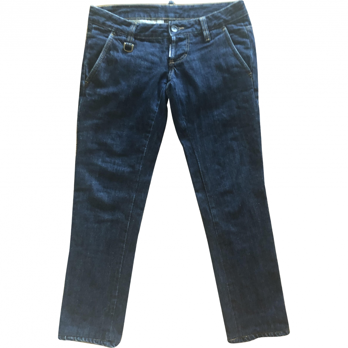 Dsquared2 \N Blue Cotton Jeans for Women 26 US