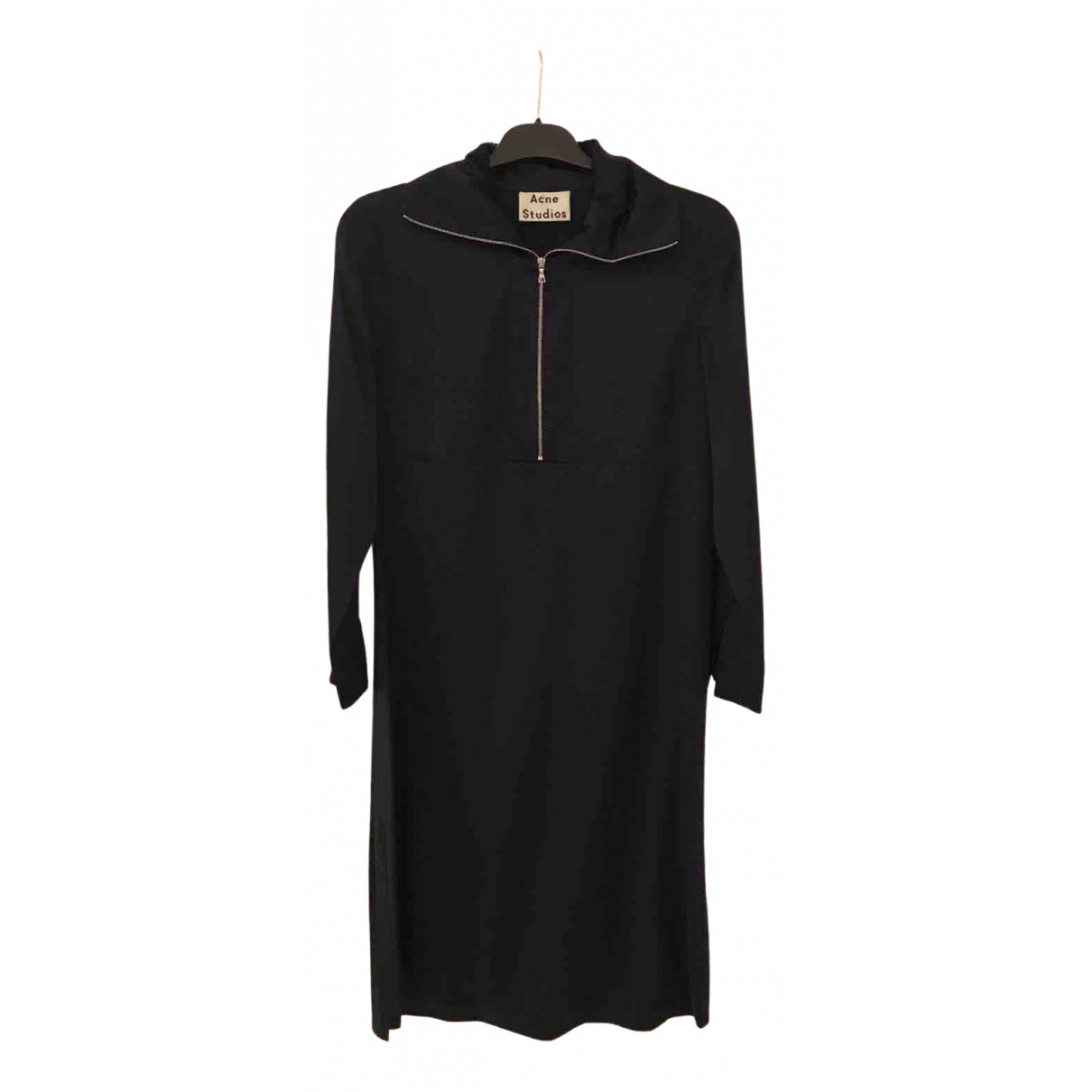 Acne Studios N Navy Silk dress for Women 4 UK