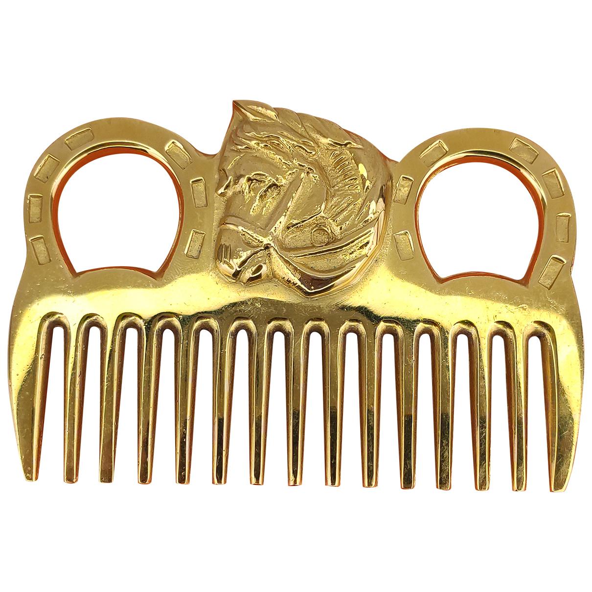 Hermes \N Haarschmuck in  Gold Metall
