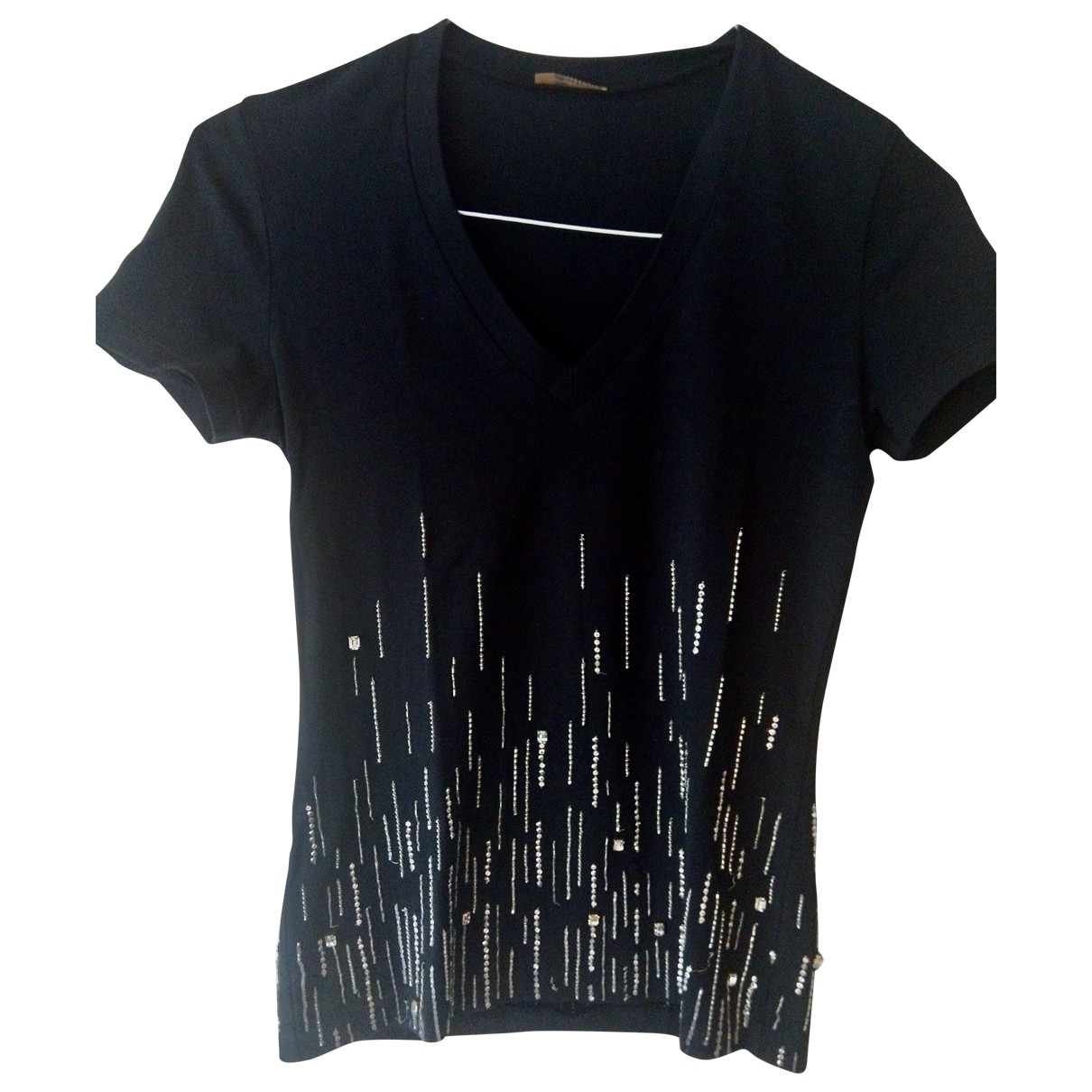 John Galliano \N Black Cotton  top for Women S International