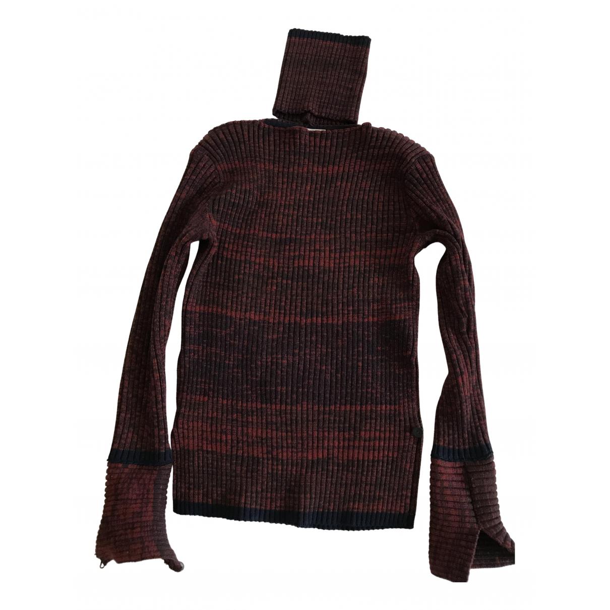 Veronique Leroy - Pull   pour femme en laine - rouge