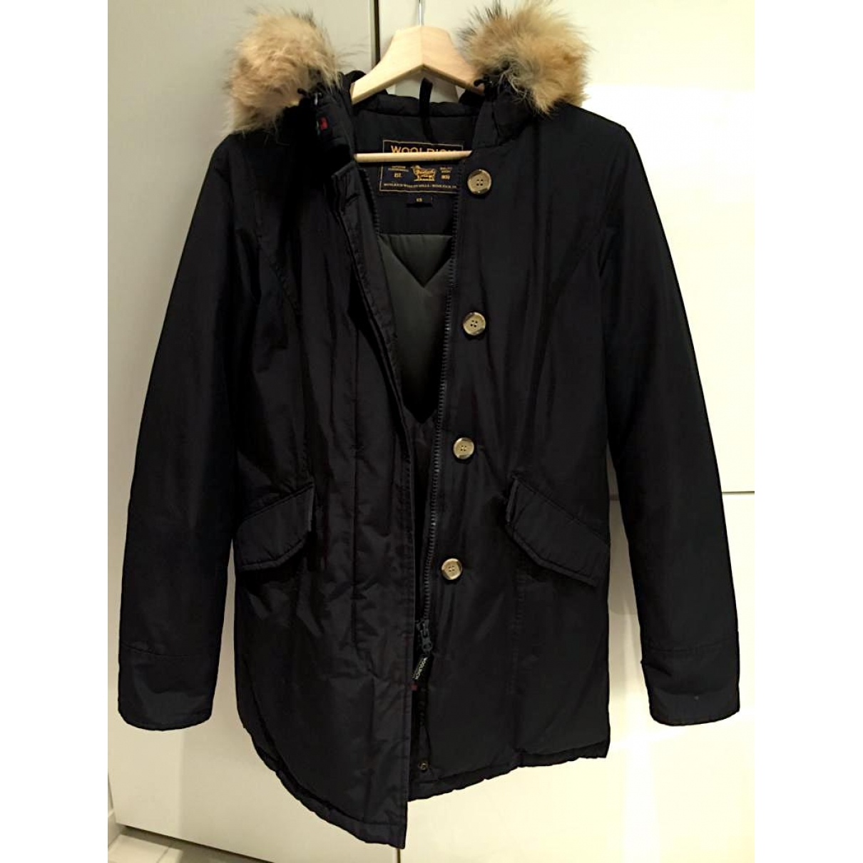 Woolrich \N Blue coat for Women XS International