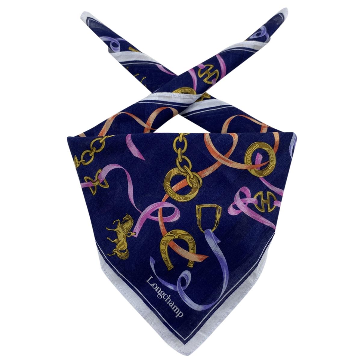 Longchamp \N Cotton scarf for Women \N