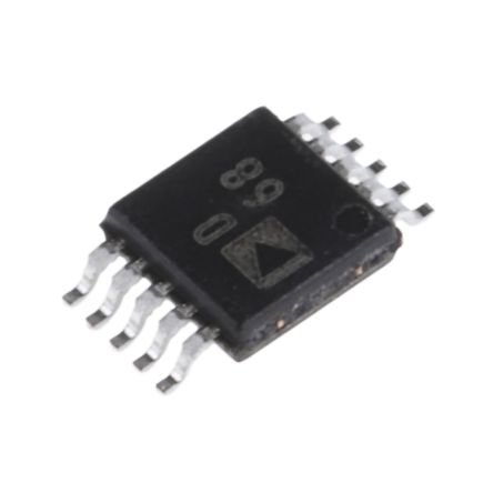 Analog Devices AD9833BRMZ, Direct Digital Synthesizer 10 bit-Bit 25Msps, 10-Pin MSOP