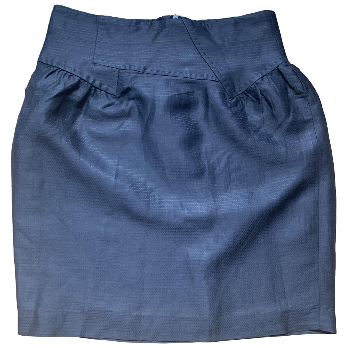 Mini falda de Lino Non Signe / Unsigned