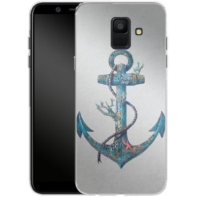 Samsung Galaxy A6 Silikon Handyhuelle - Lost At Sea von Terry Fan