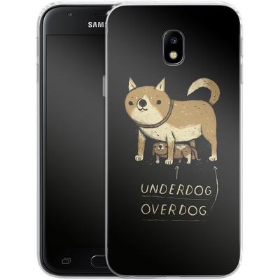 Samsung Galaxy J3 (2017) Silikon Handyhuelle - Underdog Overdog von Louis Ros