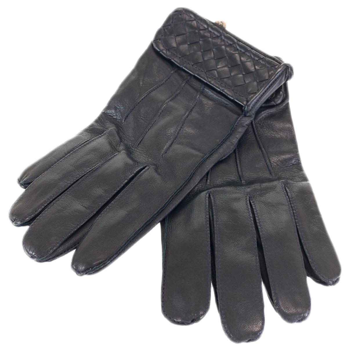 Bottega Veneta \N Handschuhe in Leder
