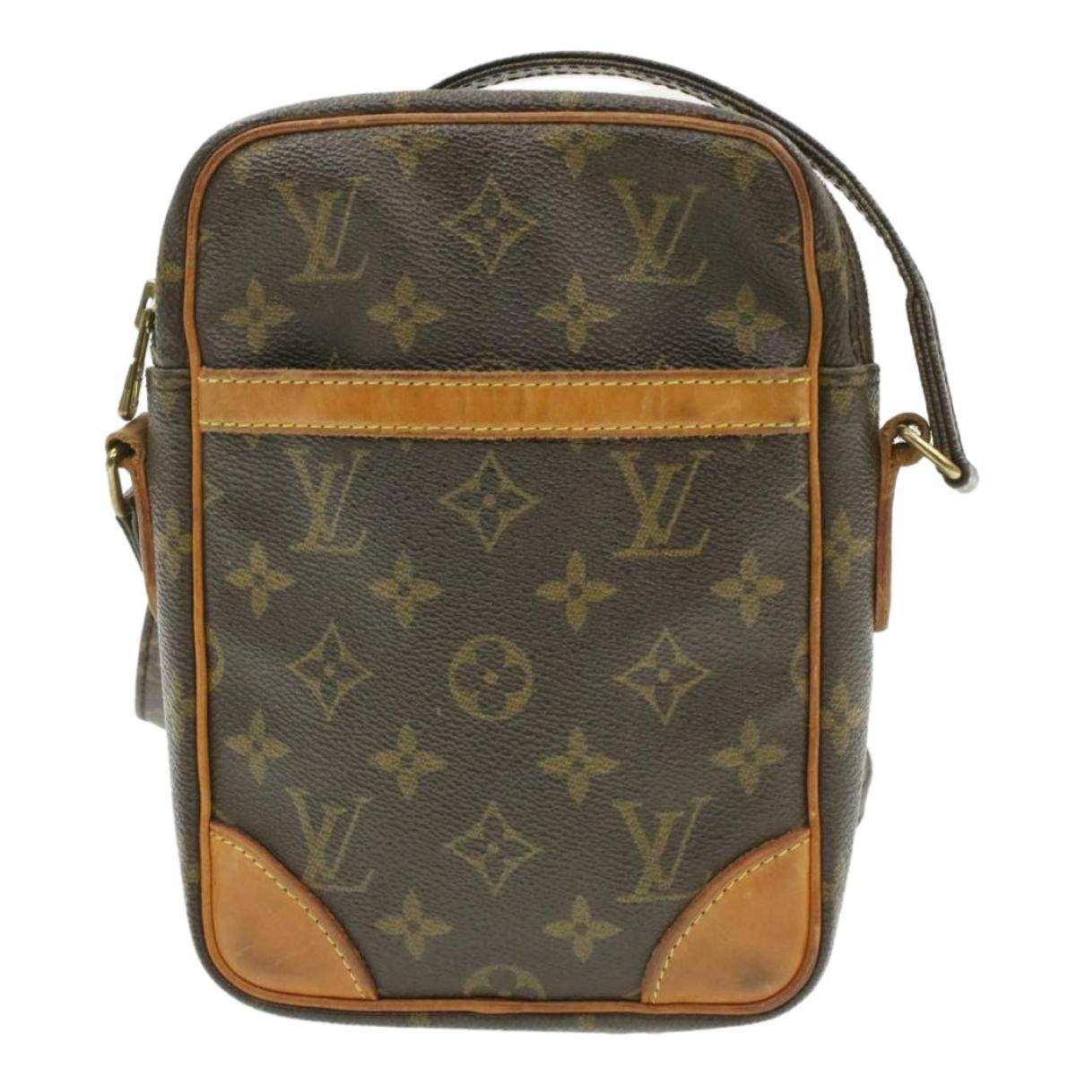 Louis Vuitton Danube Brown Cloth handbag for Women N