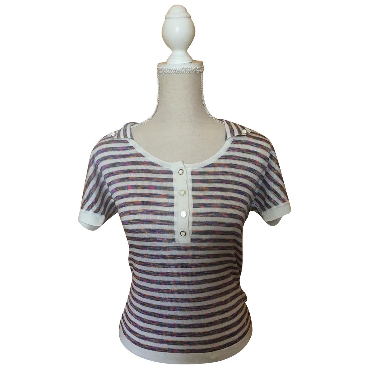 Tods - Top   pour femme en coton - multicolore