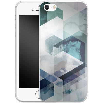 Apple iPhone 5s Silikon Handyhuelle - Graphic 165 von Mareike Bohmer