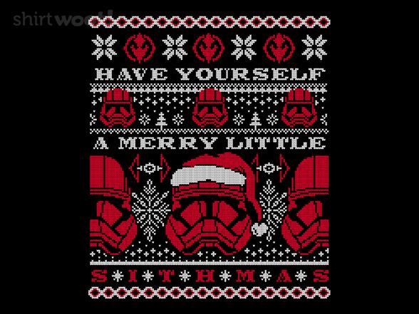 Merry Little Sithmas T Shirt