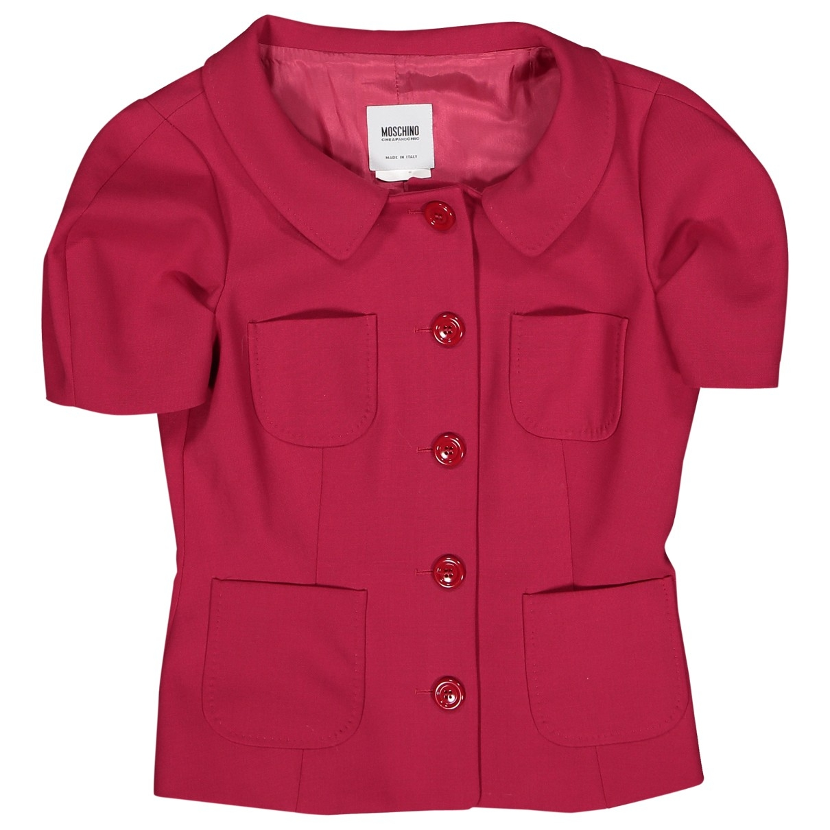Moschino \N Jacke in  Rot Polyester