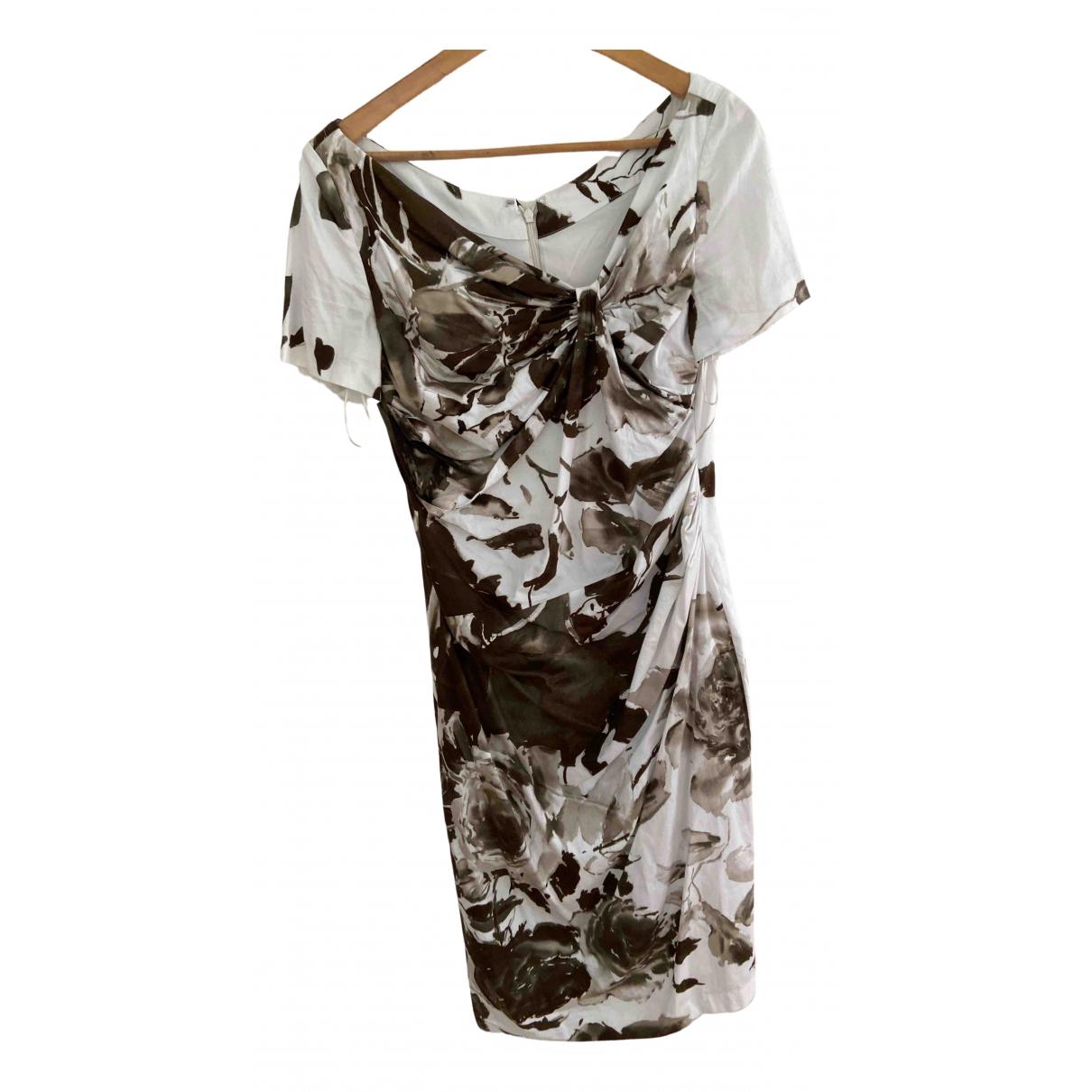 Talbot Runhof - Robe   pour femme en coton - elasthane - multicolore