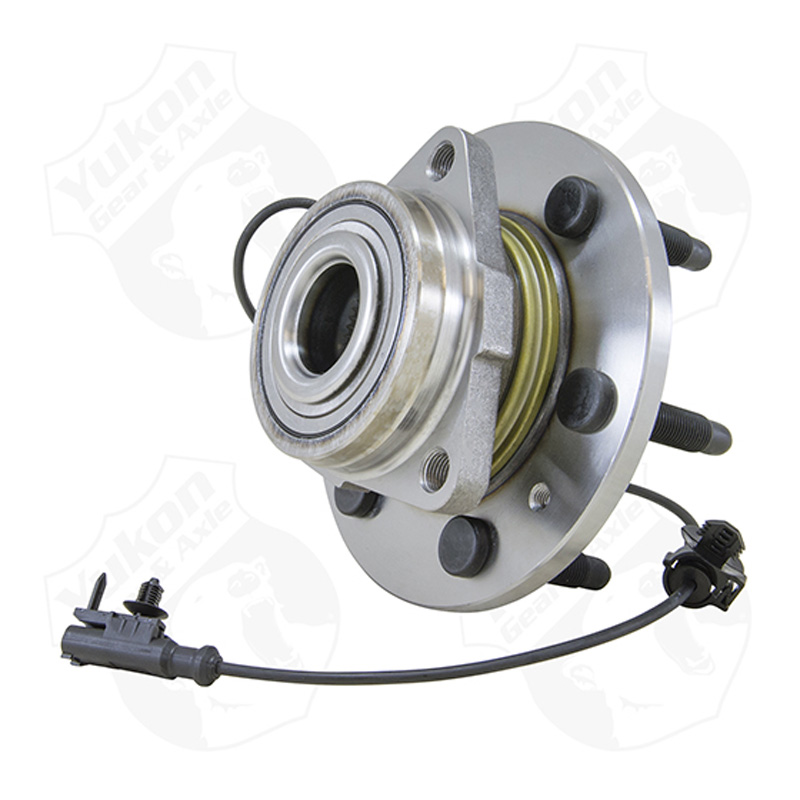 Yukon Front Unit Bearing & Hub Assembly 07-13 GM 1/2 Ton w/ABS 6 Studs Yukon Gear & Axle YB U515096