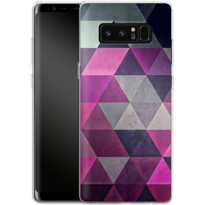 Samsung Galaxy Note 8 Silikon Handyhuelle - Hylyoxrype von Spires
