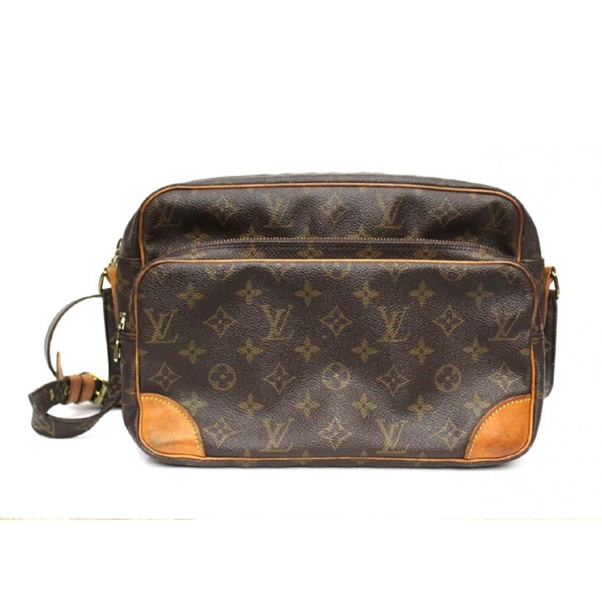 Louis Vuitton Nile Handtasche in  Braun Leinen