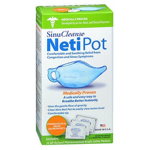 Sinucleanse Neti Pot All Natural Nasal Wash System Kit each by Sinucleanse
