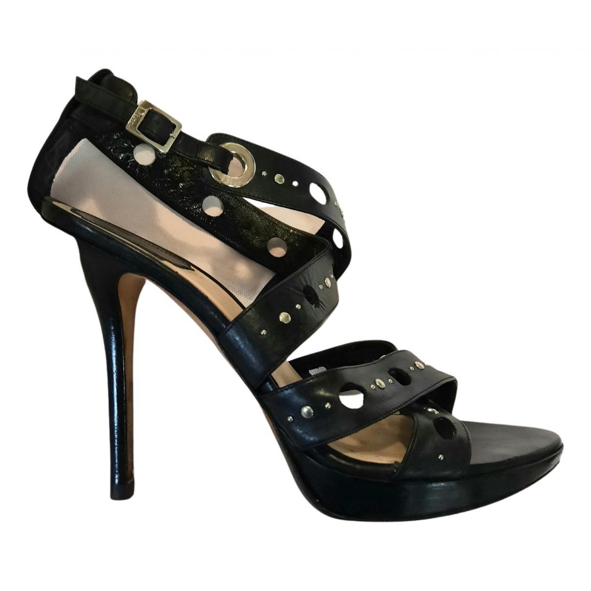 Sandalias de Cuero Dior