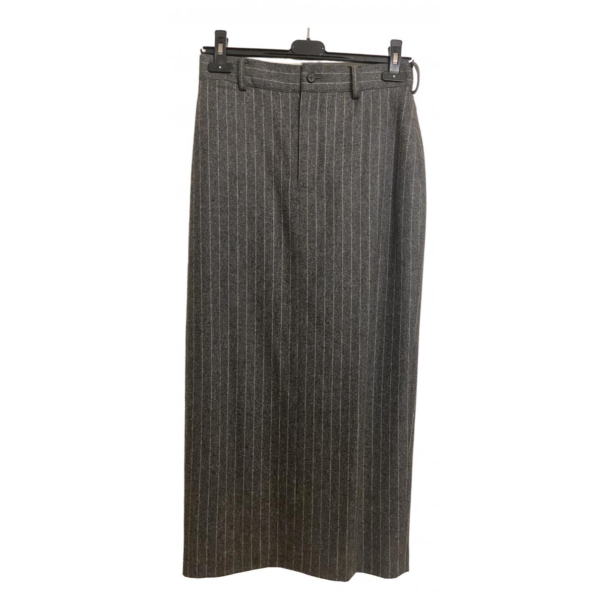 Ralph Lauren - Jupe   pour femme en laine - gris
