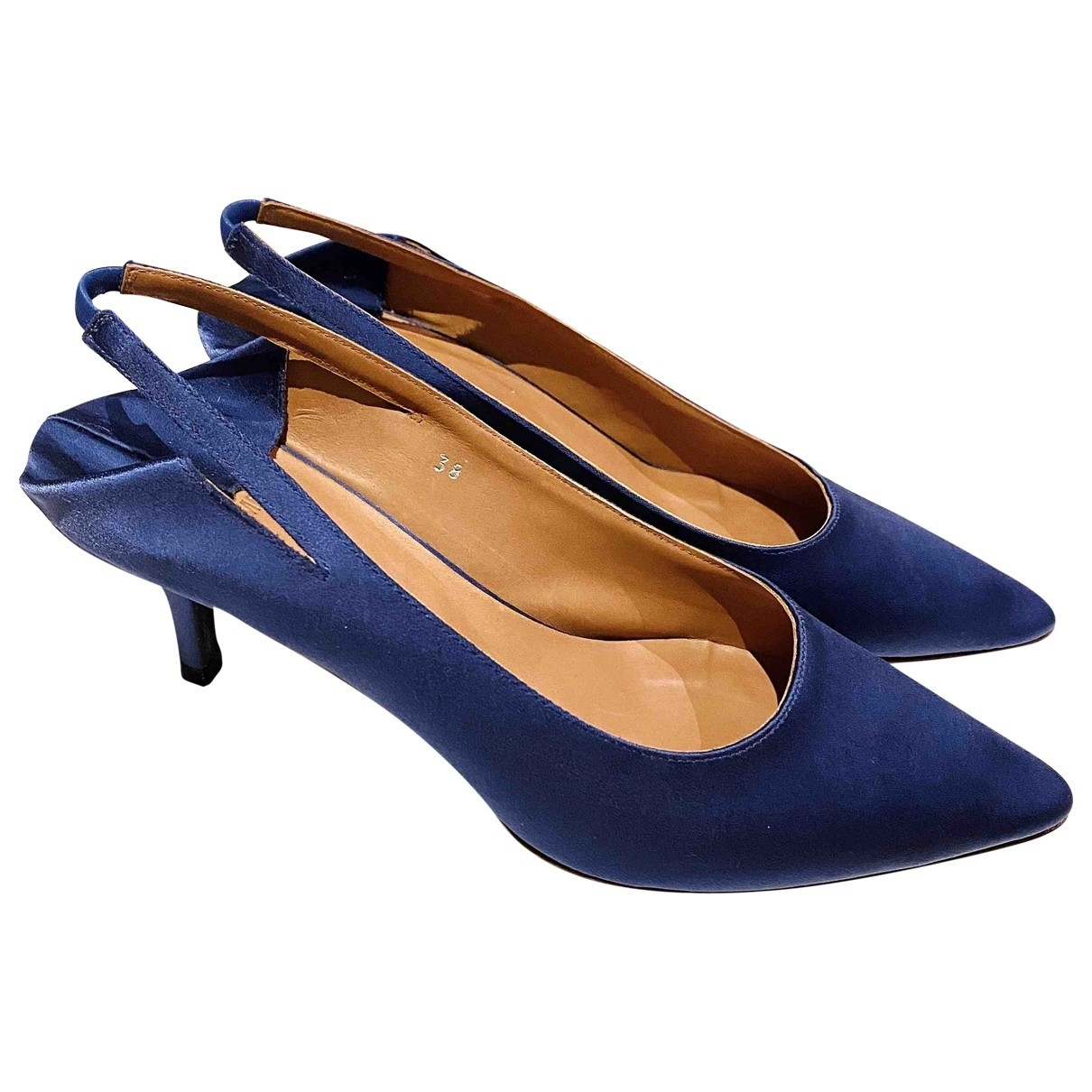 Vetements \N Blue Cloth Heels for Women 38 EU