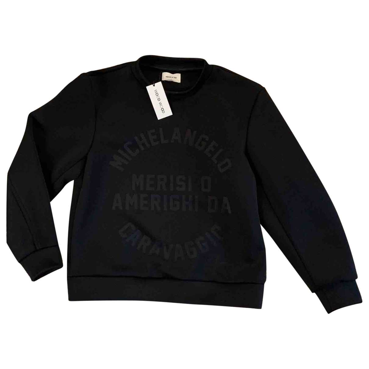 Wood Wood \N Pullover in  Schwarz Polyester
