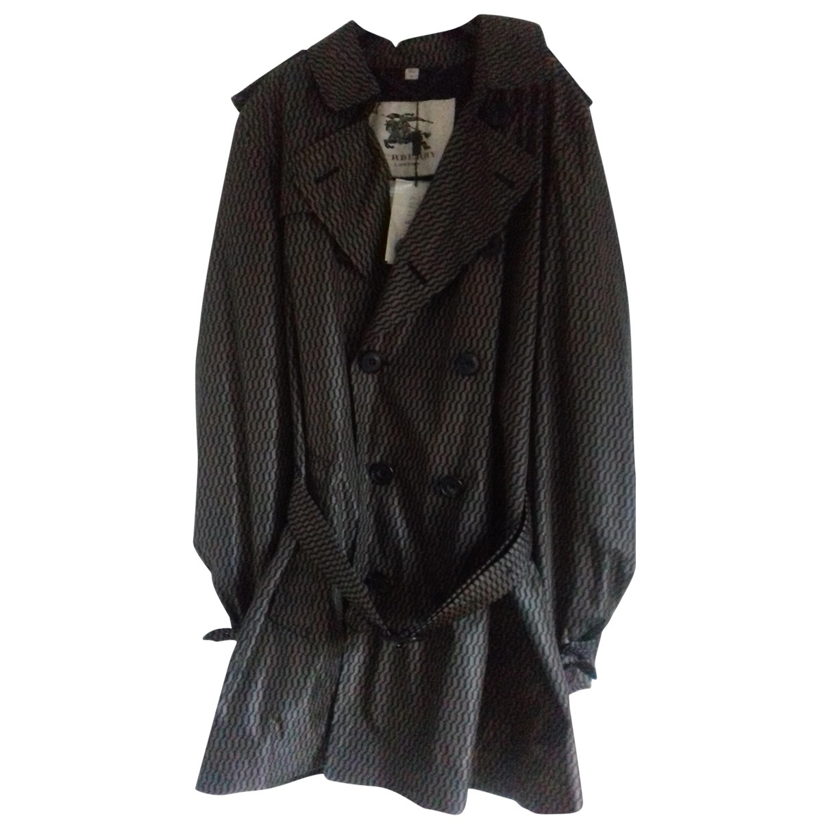 Burberry \N Trench in  Braun Synthetik