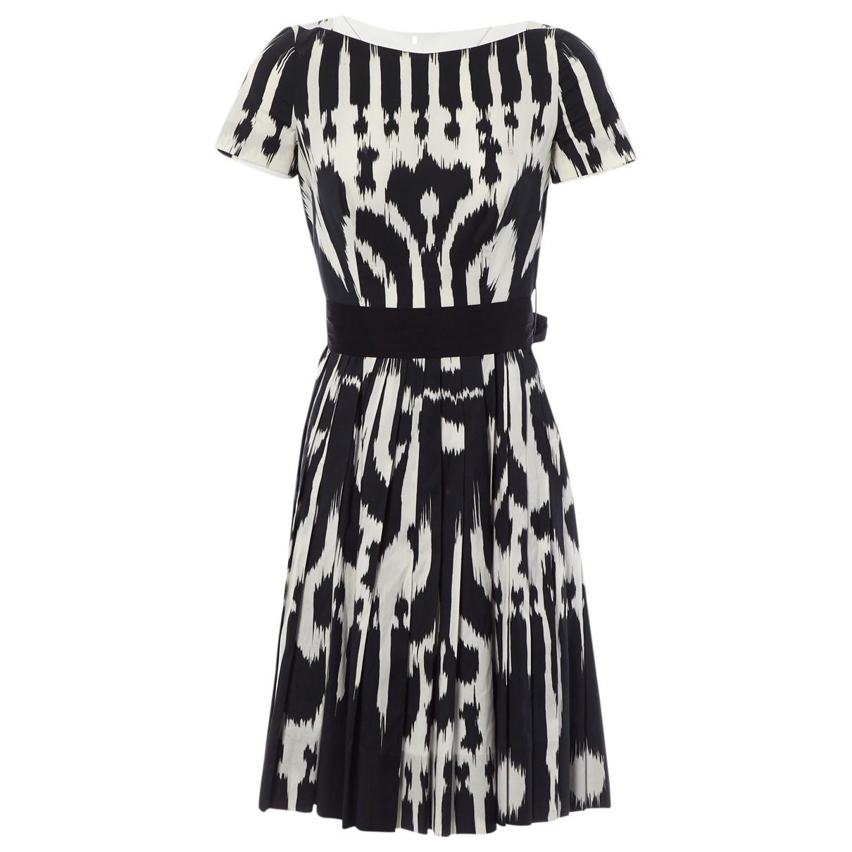 Prada - Robe   pour femme en coton - elasthane - noir