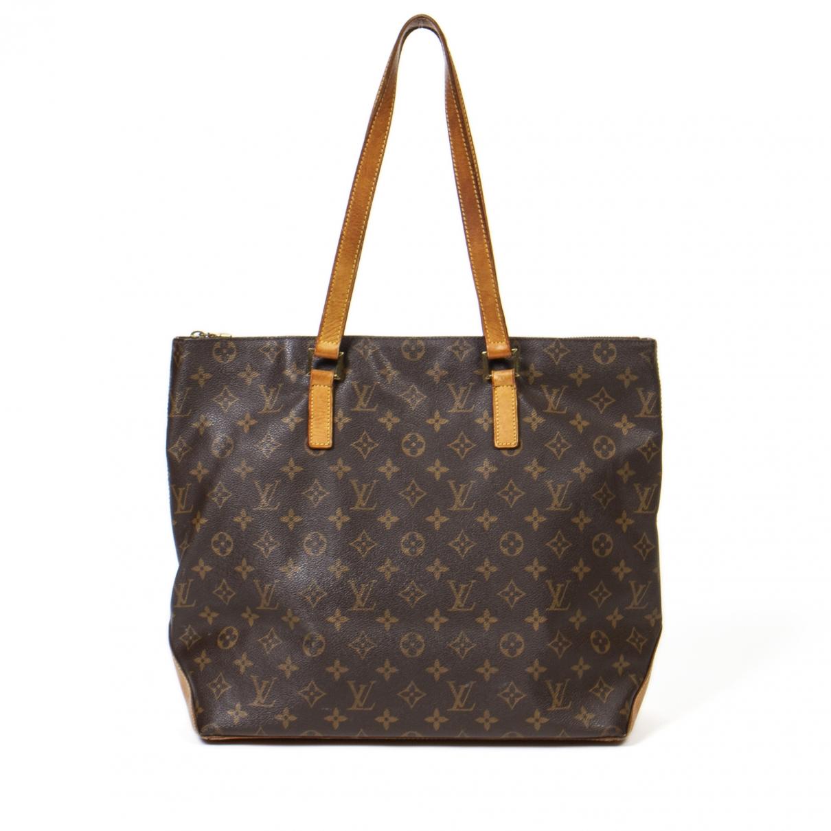 Louis Vuitton Mezzo  Brown Cotton handbag for Women \N