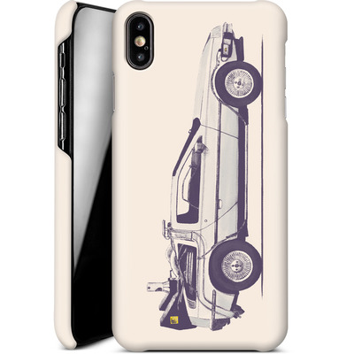 Apple iPhone XS Max Smartphone Huelle - Delorean von Florent Bodart