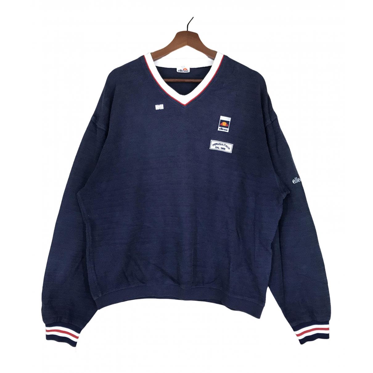 Ellesse \N Pullover.Westen.Sweatshirts  in  Blau Baumwolle