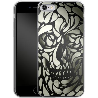 Apple iPhone 6 Silikon Handyhuelle - Skull von Ali Gulec