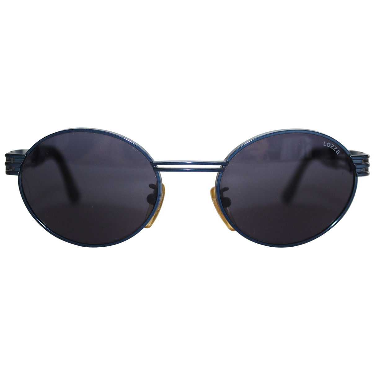 Lozza \N Blue Metal Sunglasses for Men \N