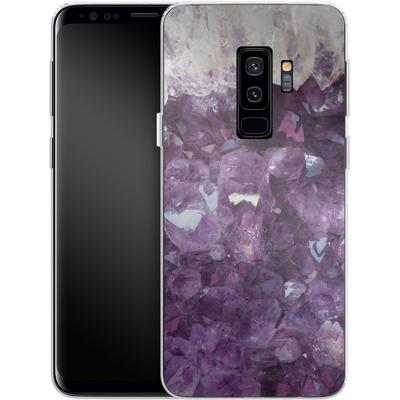 Samsung Galaxy S9 Plus Silikon Handyhuelle - Bold Ametista von Emanuela Carratoni