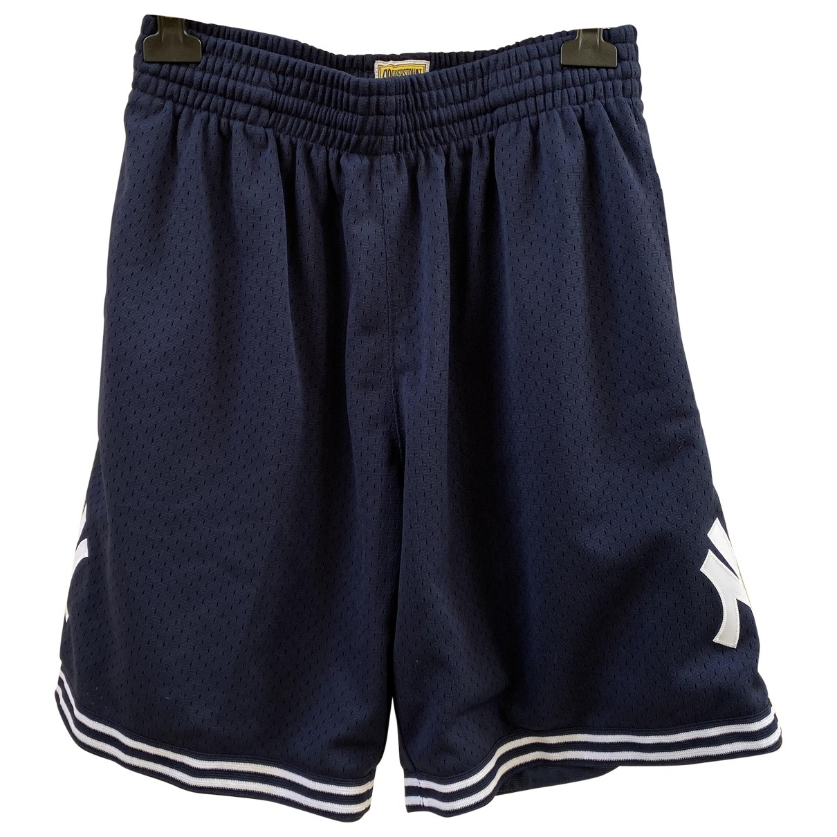 Mitchell & Ness \N Shorts in  Marine Polyester