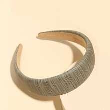 PU Wood Pattern Hair Hoop