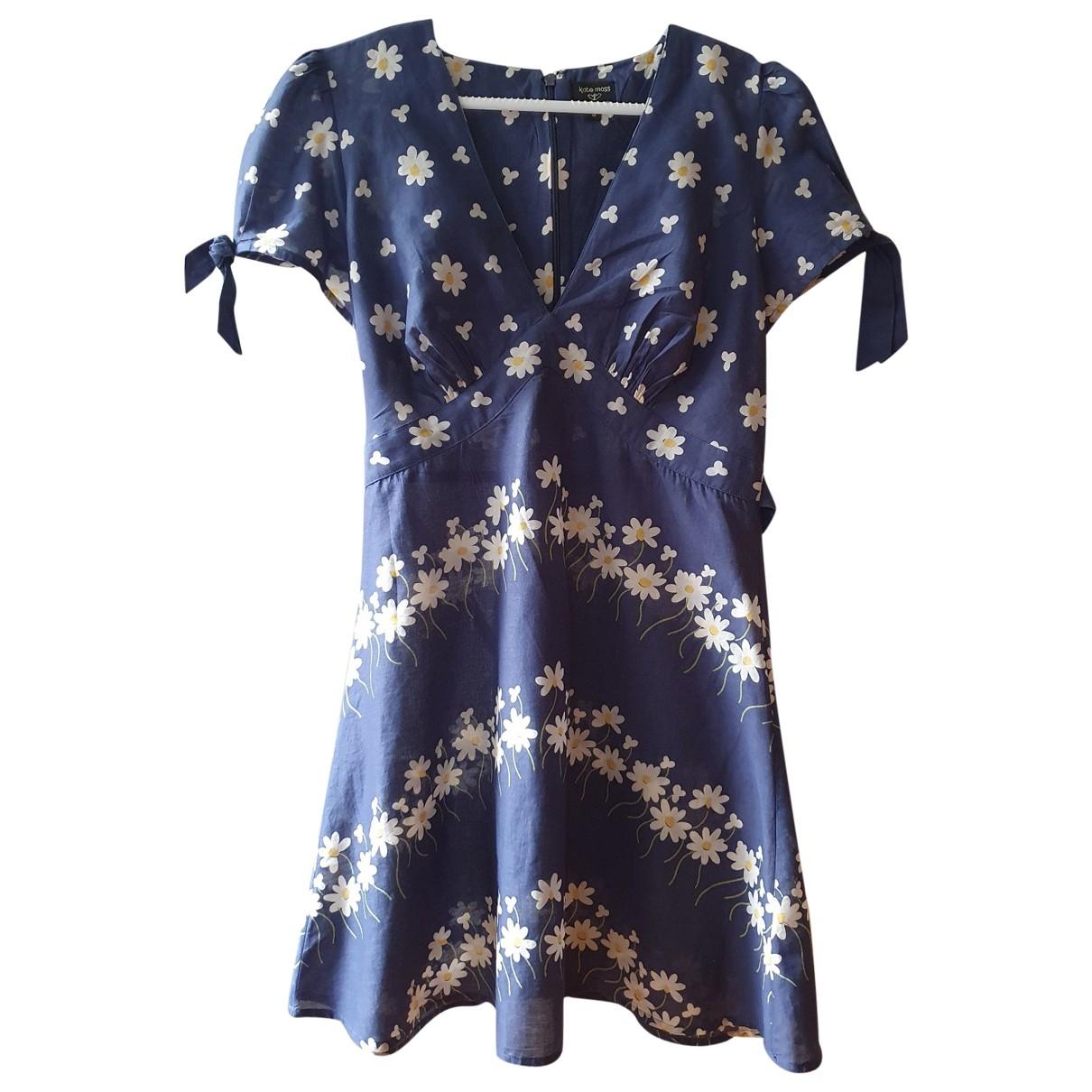 Tophop \N Kleid in  Blau Baumwolle