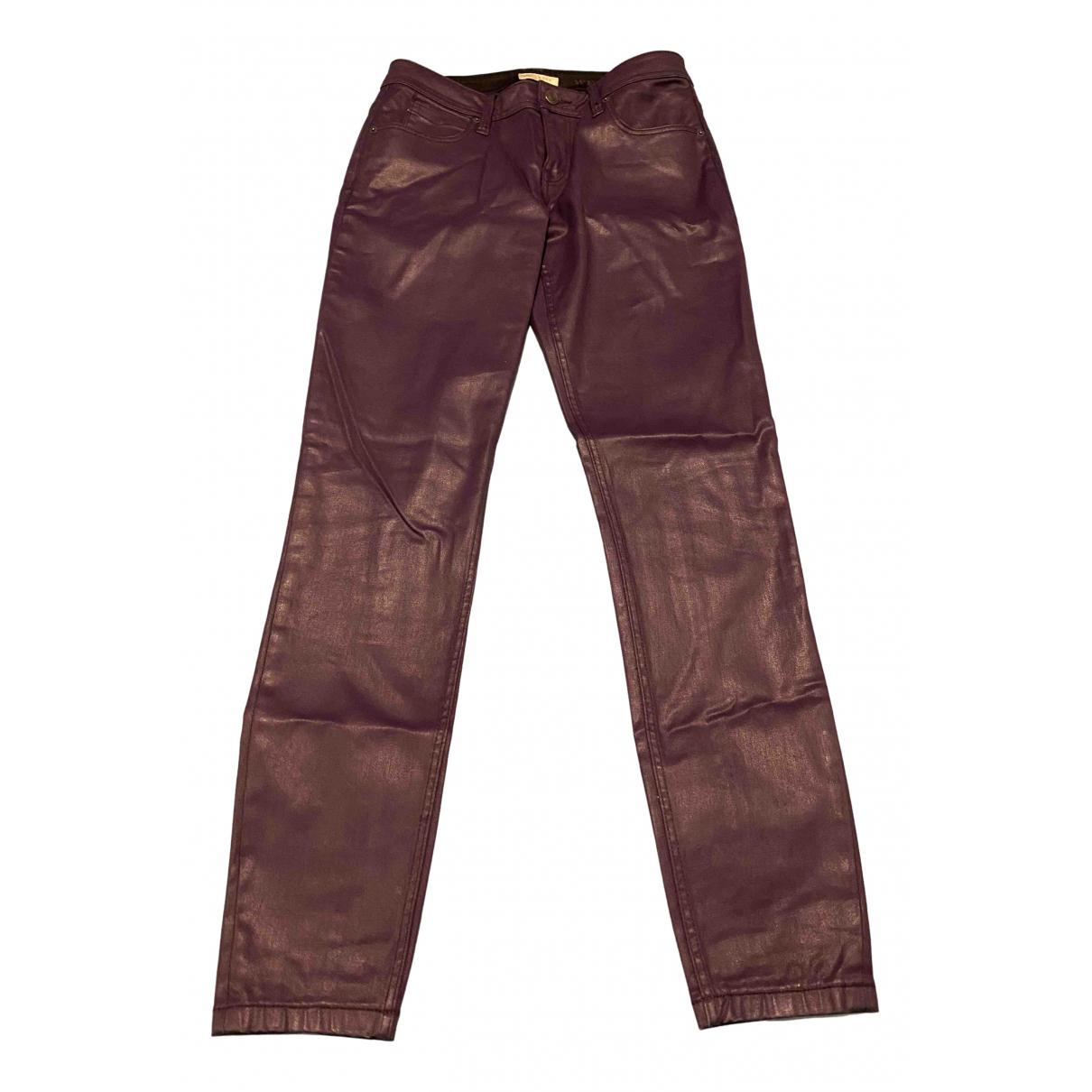 Pantalon recto Burberry