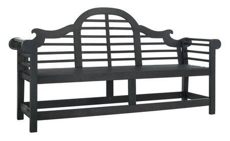 PAT6705K Khara Bench in Dark Slate