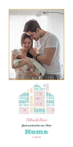 Moving Flat Matte Photo Paper Cards with Envelopes, 4x8, Card & Stationery -Heartfelt Statements