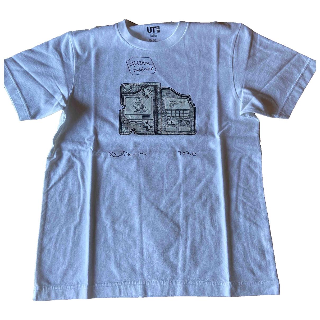 Uniqlo \N White Cotton T-shirts for Men XS International