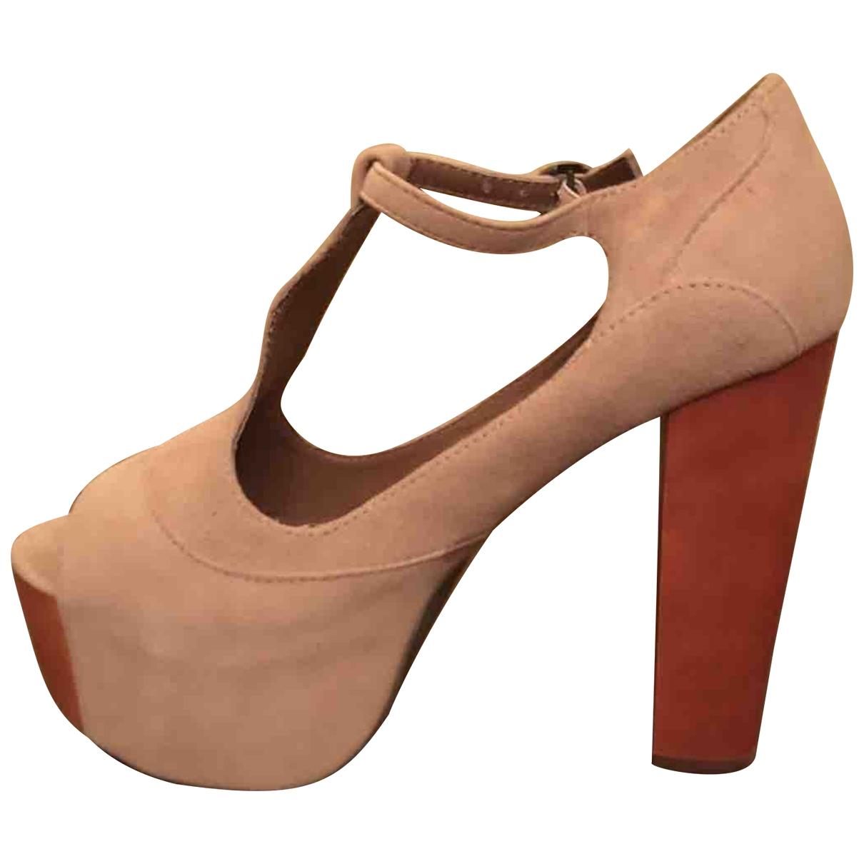 Jeffrey Campbell \N Pink Water snake Sandals for Women 38 EU