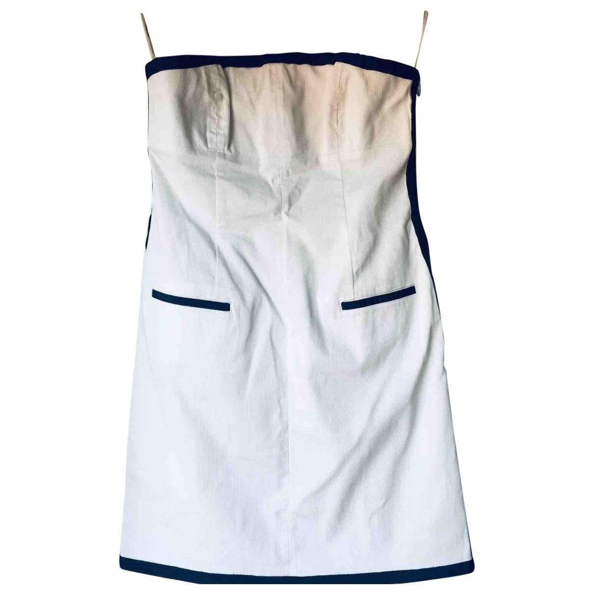Red Valentino Garavani \N White Velvet dress for Women 44 IT