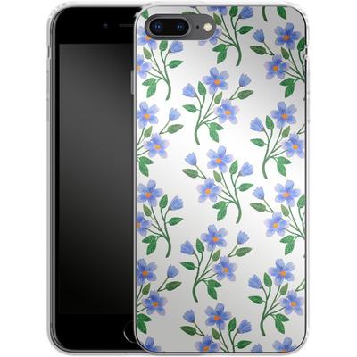 Apple iPhone 8 Plus Silikon Handyhuelle - Fresh Bloom von Iisa Monttinen