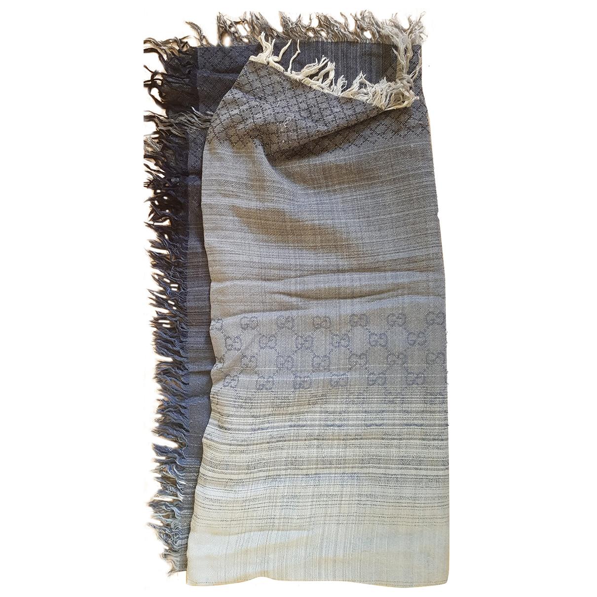 Gucci N Grey Wool scarf for Women N
