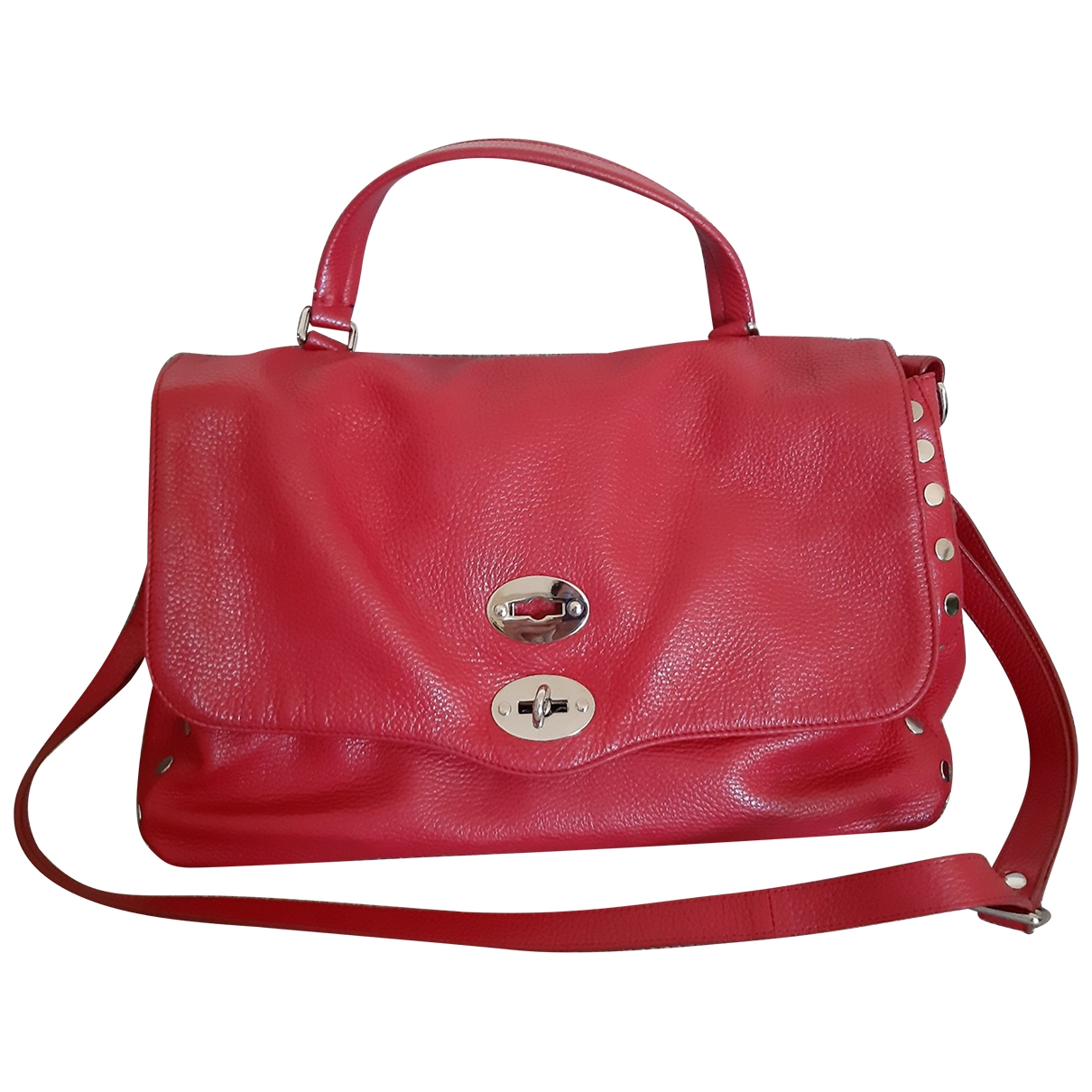 Zanellato \N Red Leather handbag for Women \N