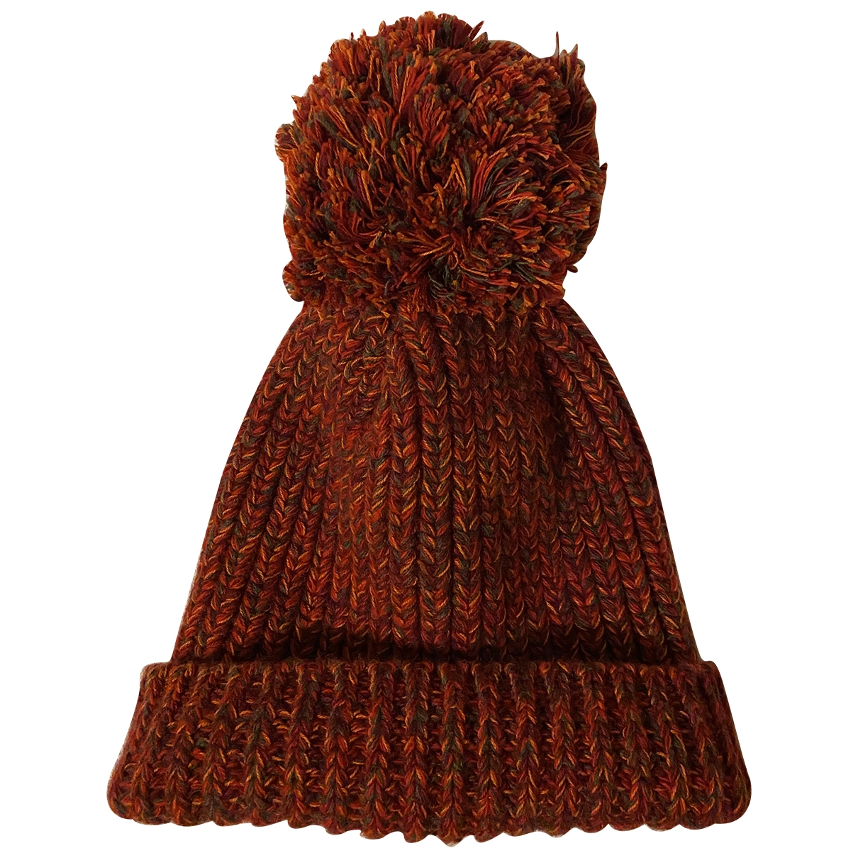 Richard James - Chapeau & Bonnets   pour homme en laine - rouge