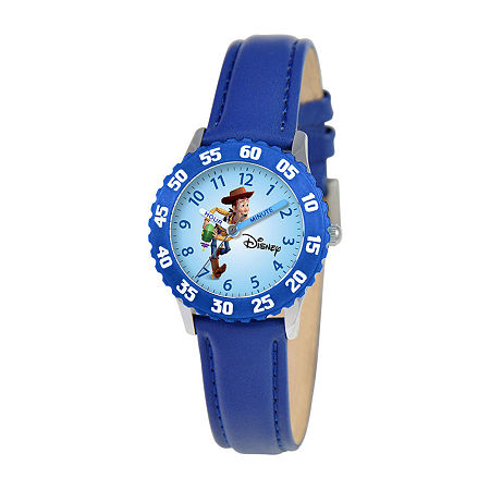 Time Teacher Toy Story Kids Blue Watch, One Size , No Color Family