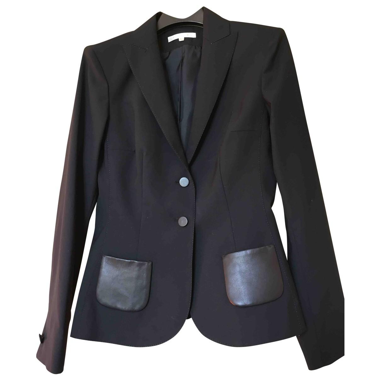 Paule Ka \N Navy Wool jacket for Women 38 FR