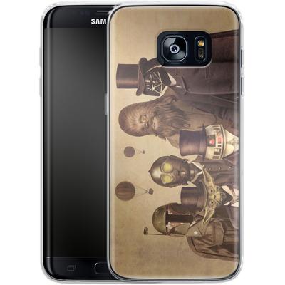 Samsung Galaxy S7 Edge Silikon Handyhuelle - Victorian Wars von Terry Fan